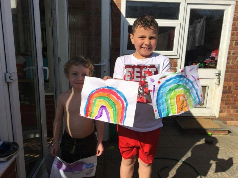 Alfie-rainbow
