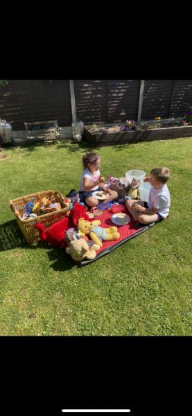Phoebe-picnic